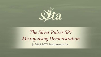 SOTA Silver Pulser - Model SP7 - Micropulsing Demonstration