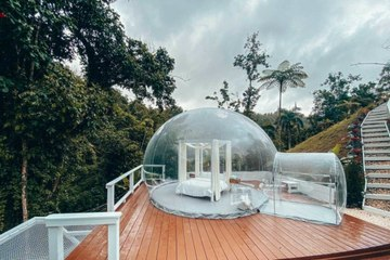 This Bubble House in Puerto Rico Has Mountain Views by Day and Amazing Stargazing by Night