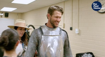 Dodgers Ace Clayton Kershaw Gets Medieval