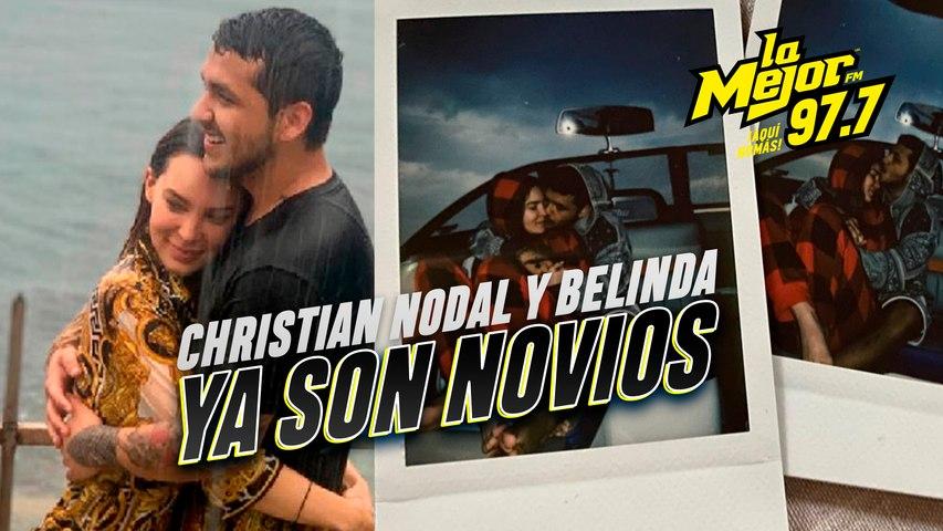 Los rumores acabaron: Christian Nodal y Belinda inician una relación