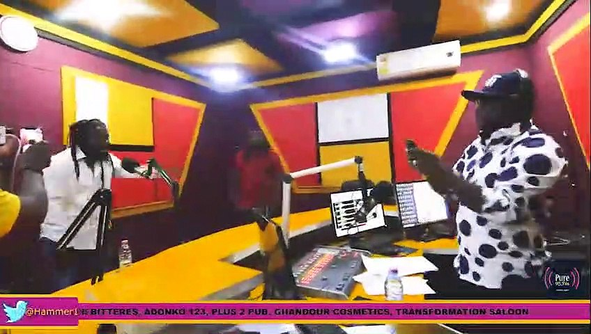 Samini performs live on Hammer Time