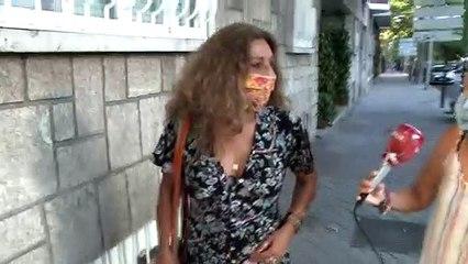 Lolita Flores se hace la sorprendida ante los planes de boda de su hija, Elena Furiase