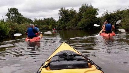 Kayak sur l'Elle à Neuilly-la-Forêt