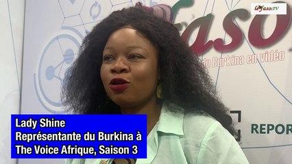 Musique : Rencontre avec Lady Shine, la représentante Burkinabè à l'émission « The Voice Afrique francophone »