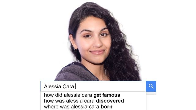 Alessia Cara Answers the Web's Most Searched Questions