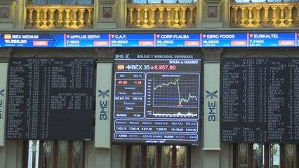 El Ibex 35 pierde el nivel de los 7.000 puntos y cede un 1,16 %