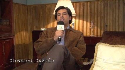 Giovanni Guzmán interpreta al hermano mayor de Garzón, reveló detalles de su personaje