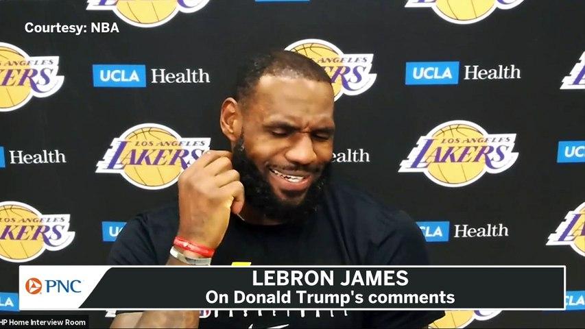 LeBron James Fires Back At Donald Trump