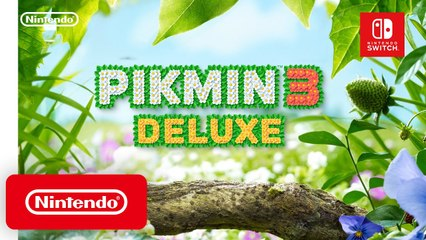 Pikmin 3 Deluxe - Trailer d'annonce Switch