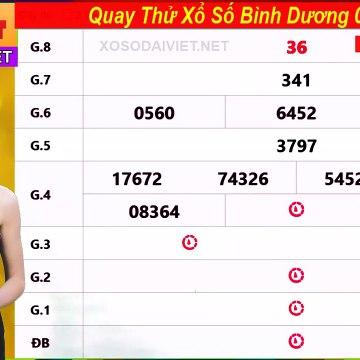 Quay thử XSBD 7-8-2020,Dự đoán quay thử xổ số Bình Dương Thứ 6 ngày 7 tháng 8 năm 2020
