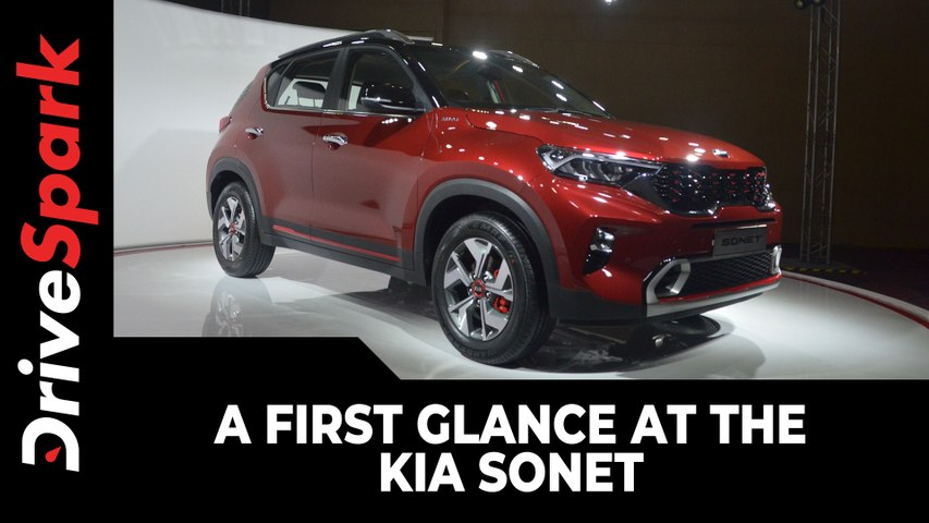 Kia Sonet First Look   Expected Launch Date, Prices, Specs & Other Details