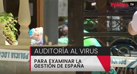 Analítica completa a la gestión del coronavirus en España