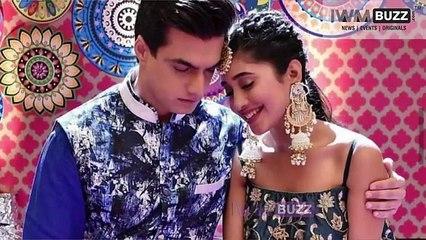 Mohsin Khan and Shivangi Joshi best romance moments ever