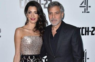 George ve Amal Clooney'den Beyrut'a destek