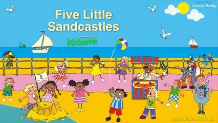 Kidzone - Five Little Sandcastles