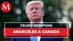 Trump reimpone aranceles a aluminio de Canadá