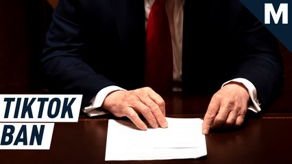 Trump officially signs an executive order to ban TikTok and WeChat