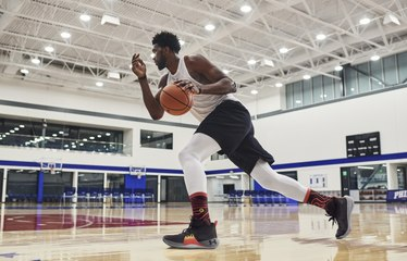 76ers Star Joel Embiid Reveals His First Signature Shoe, The UA Embiid One