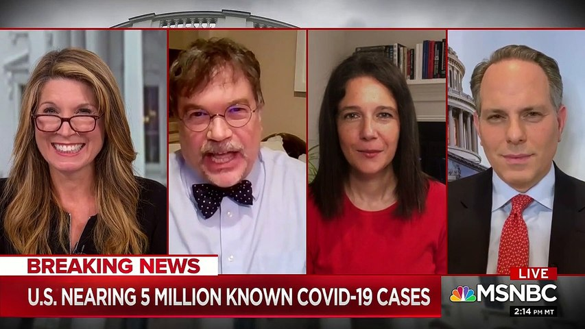 Doc tells Nicolle why 'the worst is yet to come' — and it 'scared the bejesus' out of the MSNBC anchor