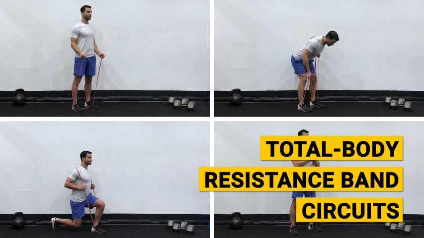 Total-Body Resistance Band Circuits