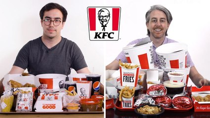 Every difference between UK and US KFC including portion sizes, calories, and exclusive items