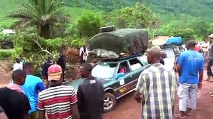 L'état de la route Coyah-Kindia sur la nationale N01 en guinée