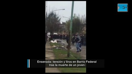 Ensenada: tiros y tensión en barrio Federal tras la muerte de un hombre