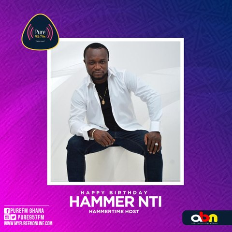 Happy birthday Hammer Nti
