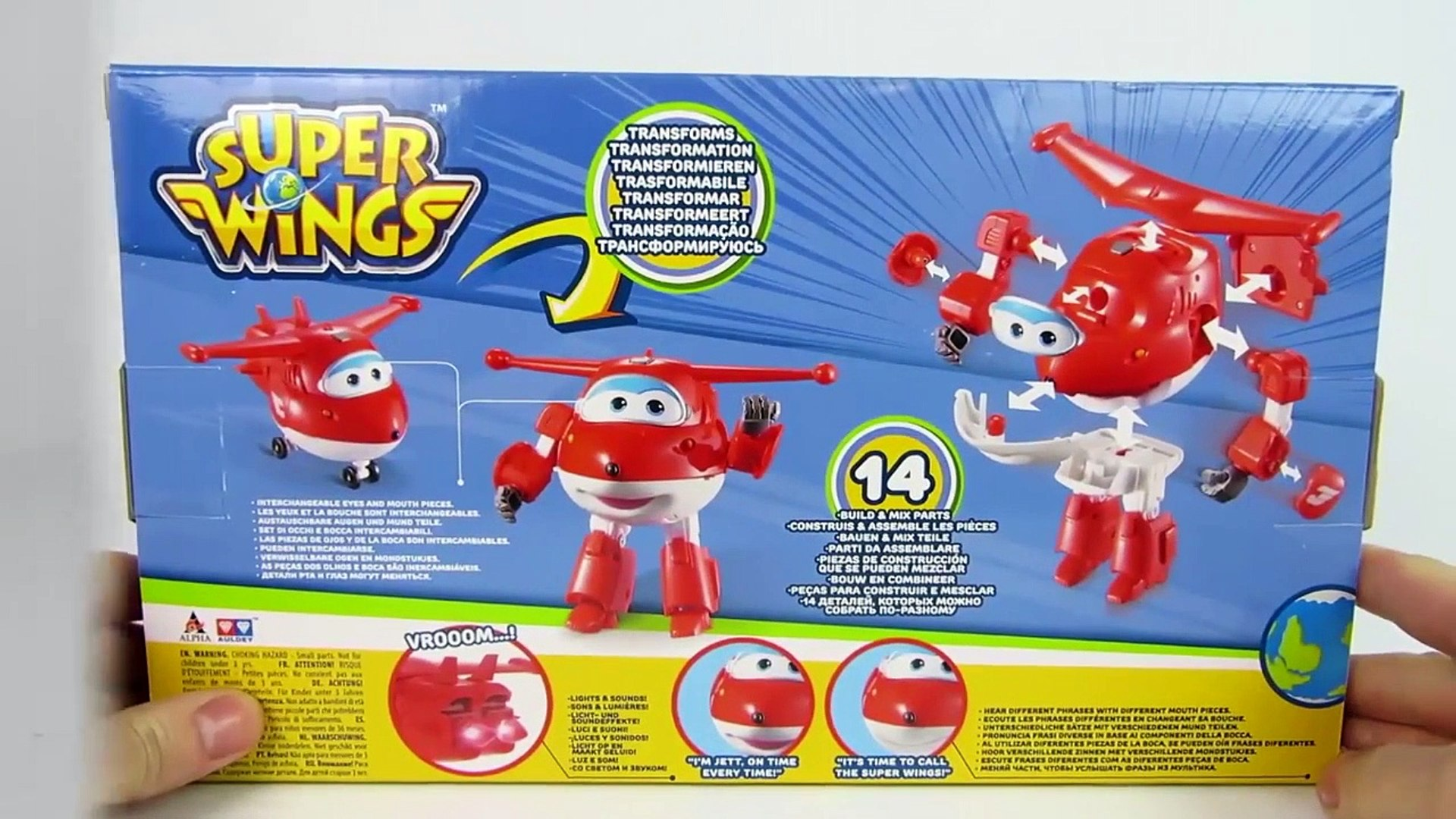 Super Wings Jett trasformabile