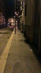 Ratto di fogna a Bari in via Montenevoso