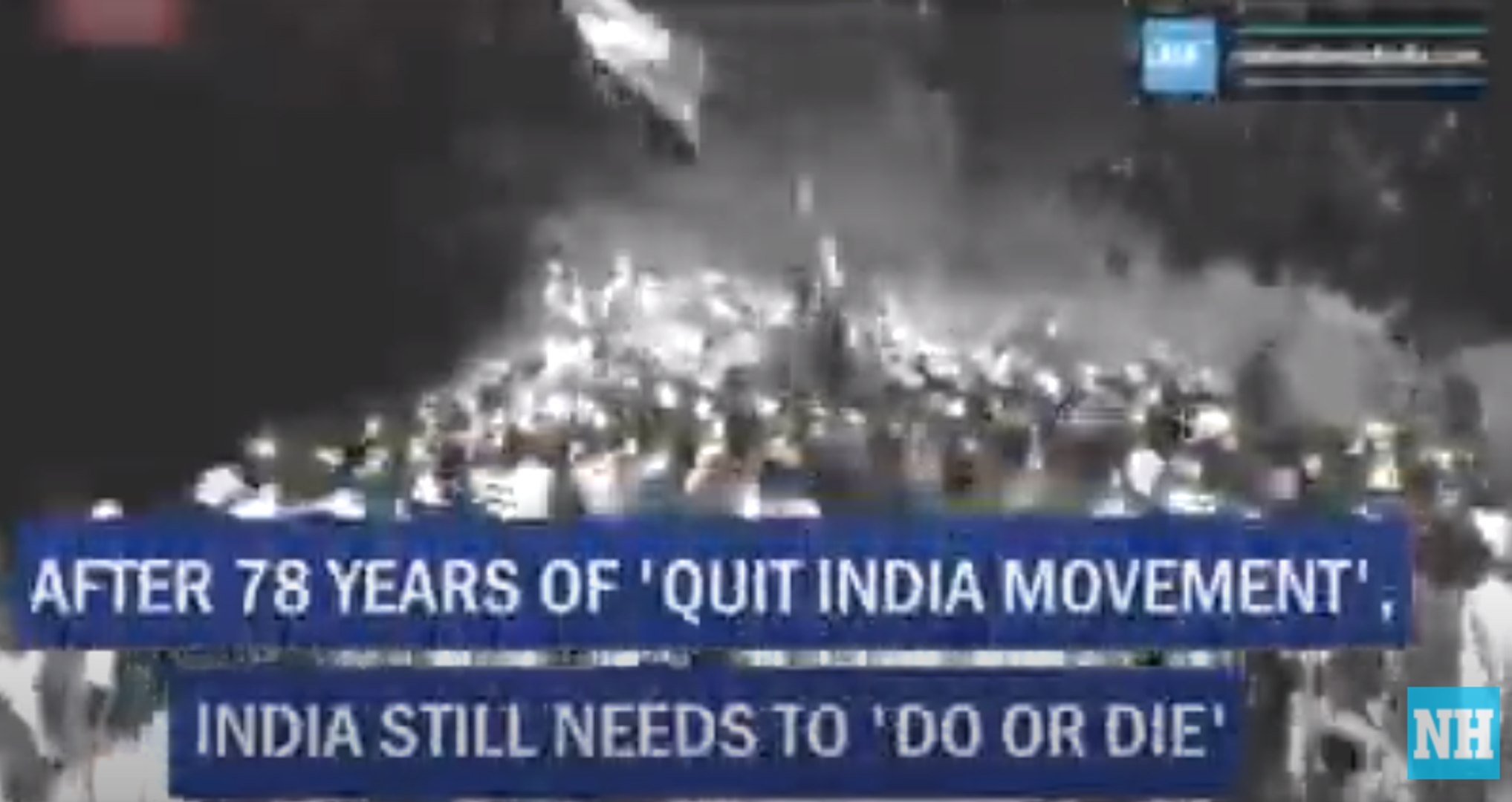 After 78 years of 'Quit India Movement', India still needs to 'Do or Die'