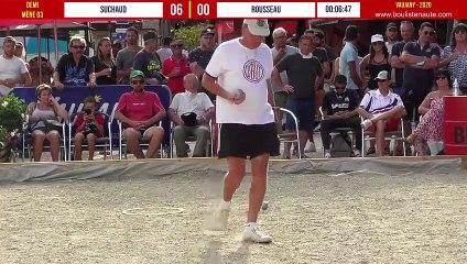Demi-finale SUCHAUD vs ROUSSEAU : Vaujany 12 Champions de pétanque s'affrontent en tête-à-tête