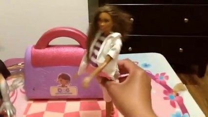 All Dolled Up- S1 Ep1-Barbie and Ken go to the Doctor Doll Episode