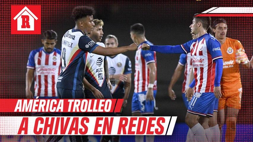 Las Águilas presumieron liderato y 'trollearon' a Chivas en redes sociales