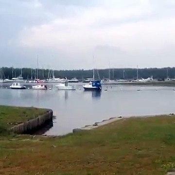 Bucklers Hard views of the Beaulieu River