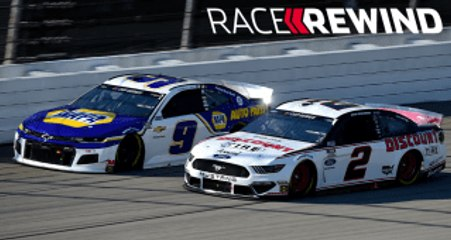 Harvick holds off Keselowski and Busch | Race Rewind from Michigan
