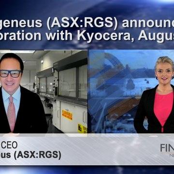 Regeneus (ASX:RGS) announces collaboration with Kyocera