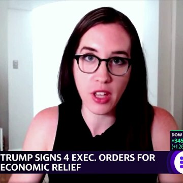 Coronavirus stimulus- President Trump signs executive order on COVID-19 relief so what's next