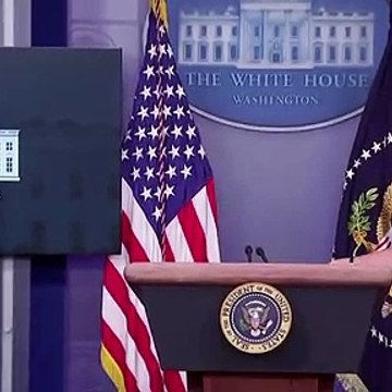 President Donald Trump escorted out of White House briefing room amid reported shooting