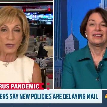 Sen. Klobuchar Slams Trump's Executive Actions As An Unconstitutional 'Gimmick' - MSNBC