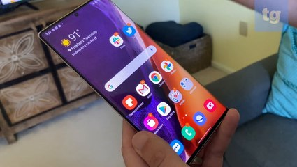 Samsung Galaxy Note 20 Ultra: Wireless DeX mode in action