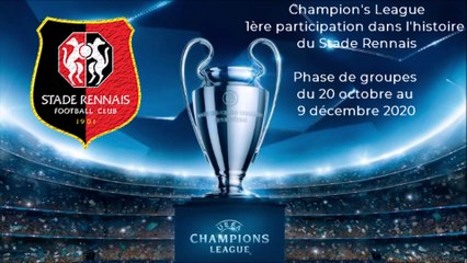 11/08/20 : le Stade Rennais en Champion's League