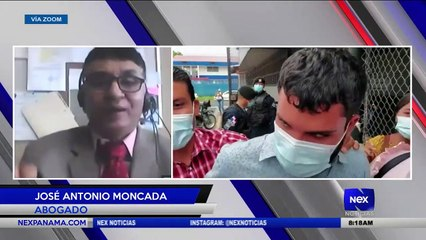 Entrevista a Jose Moncada - Abogado  - Nex Noticias