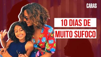 CAMILA PITANGA E FILHA SÃO DIAGNOSTICADAS COM MALÁRIA! (2020)