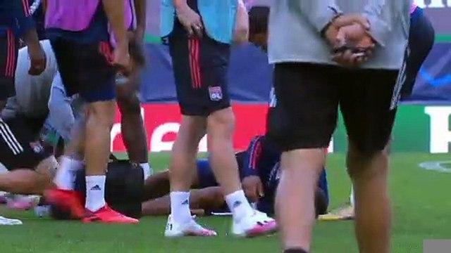 Ligue des champions - Aouar blessé à l'entraînement ?
