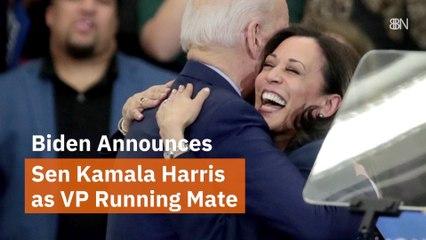 Biden Picks Sen Kamala Harris
