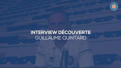 2020/21 Interview découverte - Guillaume Quintard