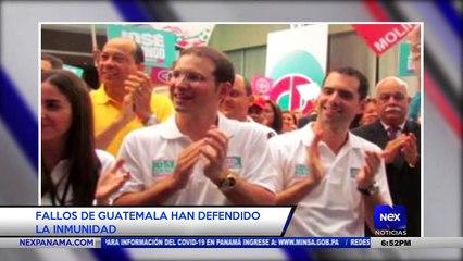Fallos de Guatemala han defendido la inmunidad de los hermanos Martinelli - Nex Noticias