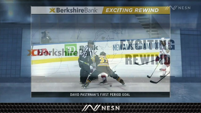 Exciting Rewind: David Pastrnak Scores to get the Bruins on the board in Game 1