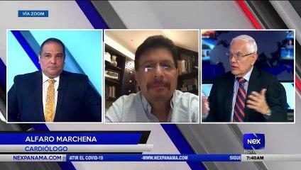Entrevista a Alfaro Marchena - Cardiólogo  - Nex Noticias